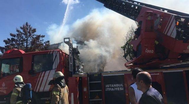 7 kişinin kaldığı evde korkutan yangın!