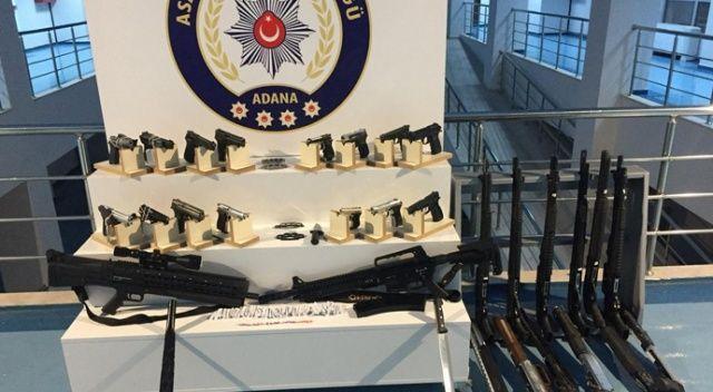 Adana'da polisin, bir haftada buldukları şaşırttı