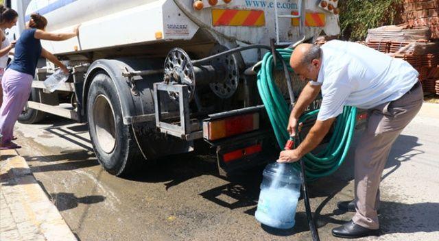 Ağustos sıcağında İzmir'de su rezaleti