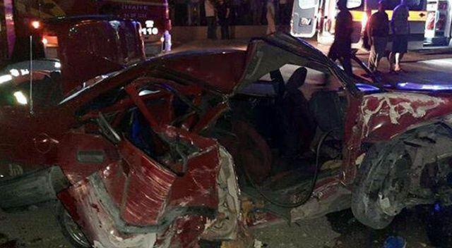 Ankara'da feci kaza: 2 ölü, 4 yaralı
