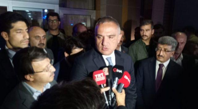 Bakan Ersoy'dan 'kaza' açıklaması