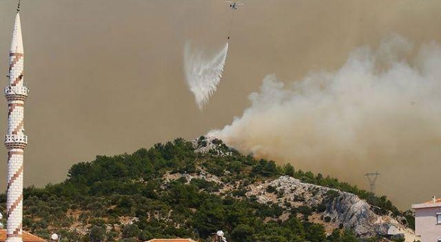 Bakan Pakdemirli'den İzmir'deki orman yangını ile ilgili açıklama