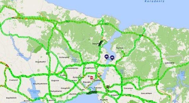 Bayramın 2. günü İstanbul trafiği yüzde 8'i gösterdi