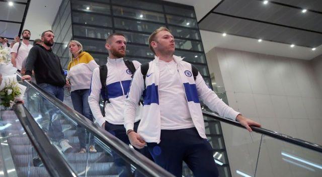Chelsea, dev final için İstanbul'da