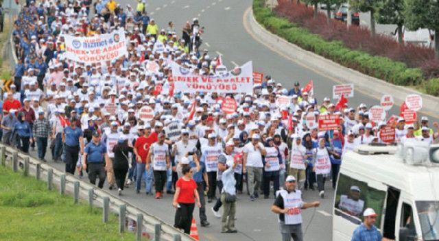 CHP'nin attığı işçiler bayrama buruk girdi