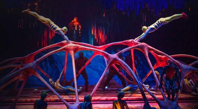 Cirque du Soleil, İstanbul'da Bazzar'ı sahneledi