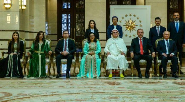 Cumhurbaşkanı Erdoğan, Fas Büyükelçisini kabul etti