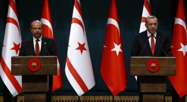 Cumhurbaşkanı Erdoğan: KKTC ile birlikte adımlar atmaya devam edeceğiz
