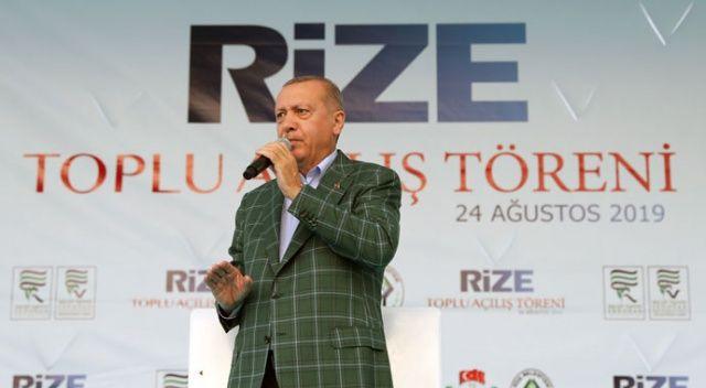 Cumhurbaşkanı Erdoğan: Kuru gürültüye pabuç bırakmadık