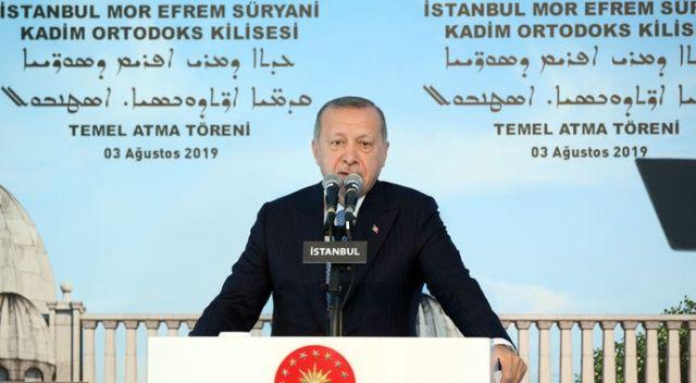 Cumhurbaşkanı Erdoğan: Zihnimizde ayrımcılığa yer yok