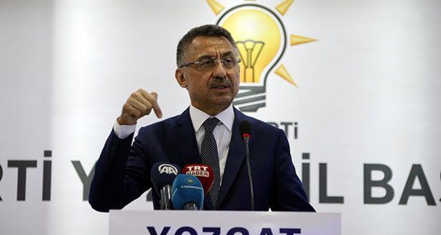 Cumhurbaşkanı Yardımcısı Oktay'dan 'Akdeniz' açıklaması