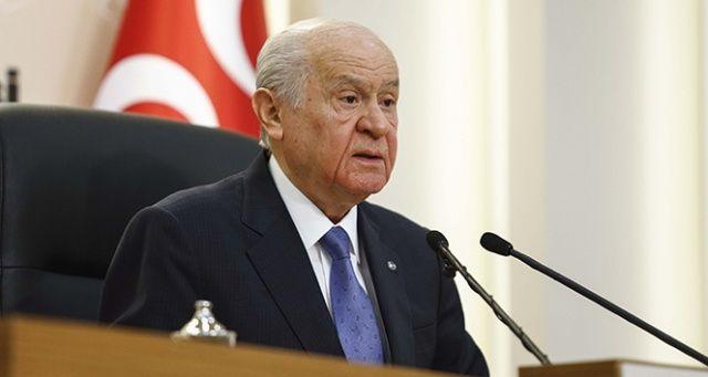 Devlet Bahçeli'den 'erken seçim' açıklaması