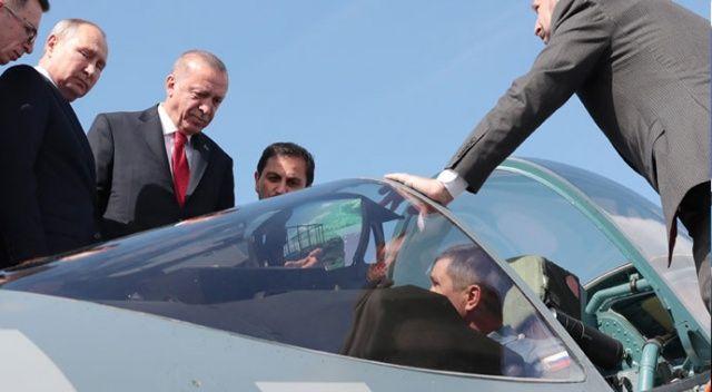 Erdoğan'dan SU-57 mesajı: Rusya'ya boşuna mı gittik