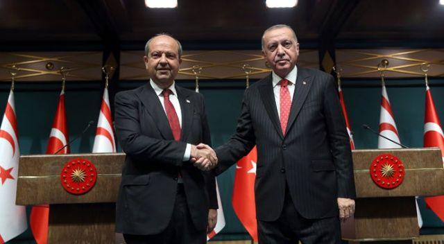 Erdoğan: Türkiye ve KKTC'yi yok sayan hiçbir proje hayata geçemez