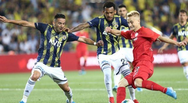 Fenerbahçe evinde rahat kazandı (Fenerbahçe 5-0 Gazişehir Gaziantep)