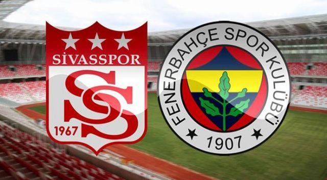 Fenerbahçe'nin, Sivasspor maçı kadrosu belli oldu