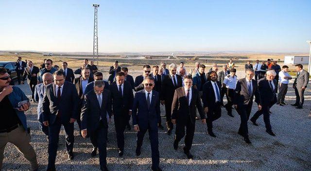 Fuat Oktay Yozgat Havalimanı inşaatında incelemelerde bulundu
