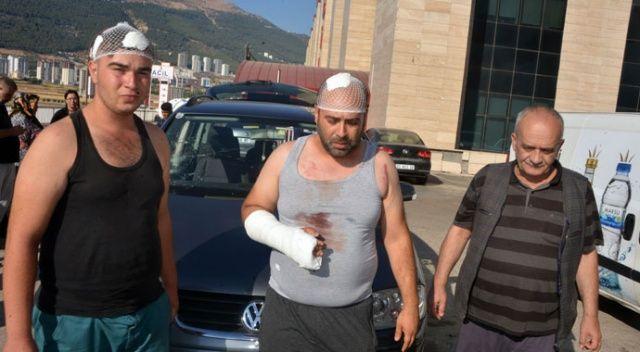 Gurbetçi aileye saldırı şoku: 12 yaralı, 12 gözaltı