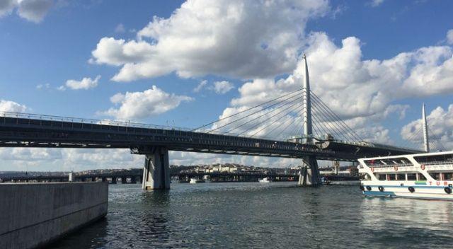 Haliç metro köprüsünden düşen kişi yaralandı