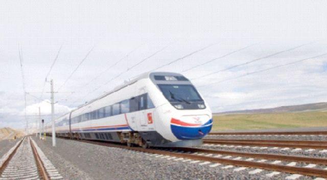 Hızlı trenle 10 yılda  50 milyon yolcu