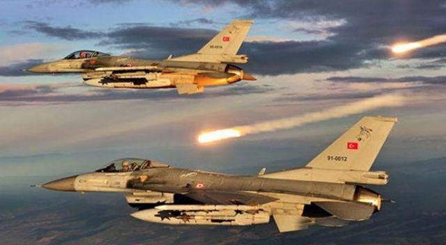 Irak'ın kuzeyine hava harekatı: PKK'lı teröristlere ait hedefler vuruldu!