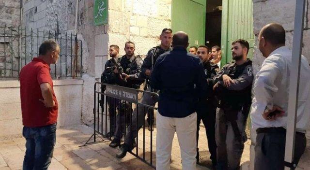 İsrail askerleri Mescid-i Aksa'da 2 Filistinliyi yaraladı