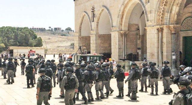 İsrail, Mescid-i Aksa'nın statükosunu değiştirmek istiyor