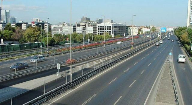 İstanbul'da trafik yoğunluğu yüzde 8'e düştü