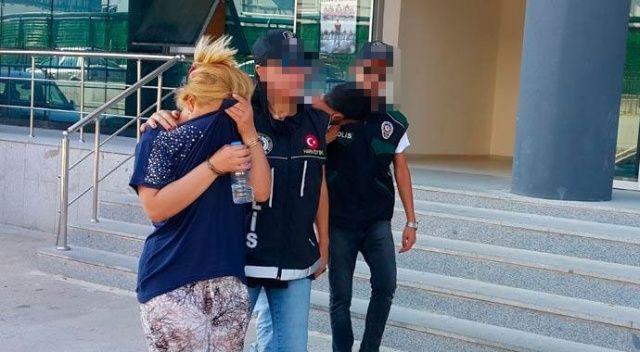 Karı koca bayram günü uyuşturucu ile yakalandı!