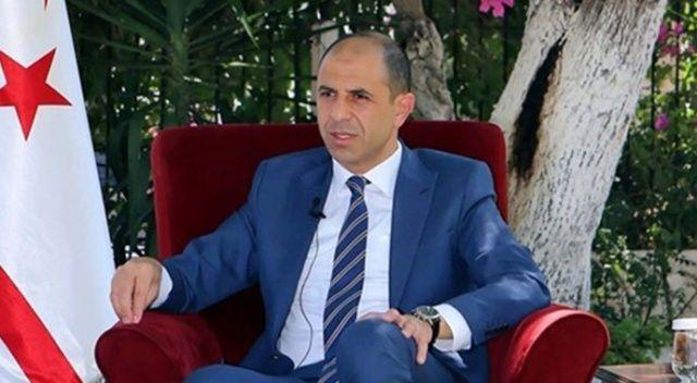 KKTC Başbakan Yardımcısı ve Dışişleri Bakanı Özersay'dan uyarı