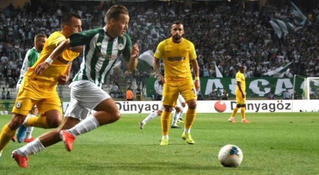 Konyaspor ve Ankaragücü golsüz berabere kaldı