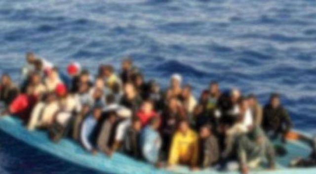 Libya açıklarında 278 düzensiz göçmen yakalandı
