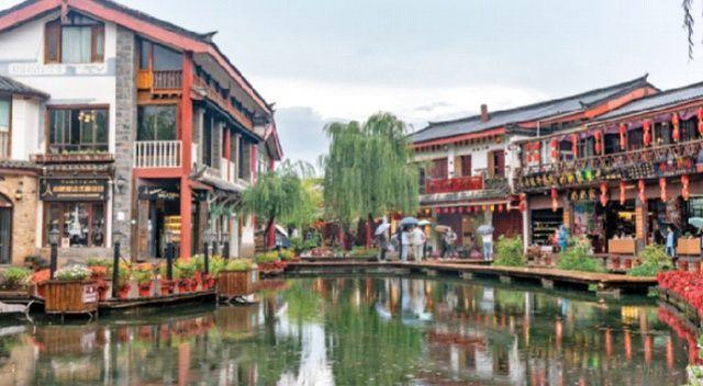 Liciang, Himalaya'da bir antik kasaba