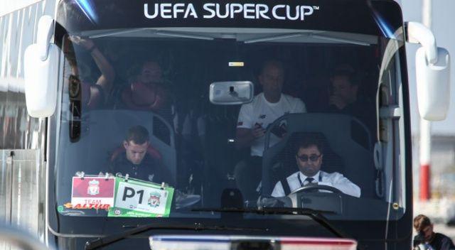Liverpool, Süper Kupa mücadelesi için İstanbul'da