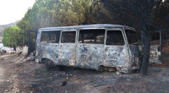 Marmara Adası'ndaki feci yangınla ilgili 1 kişi gözaltında