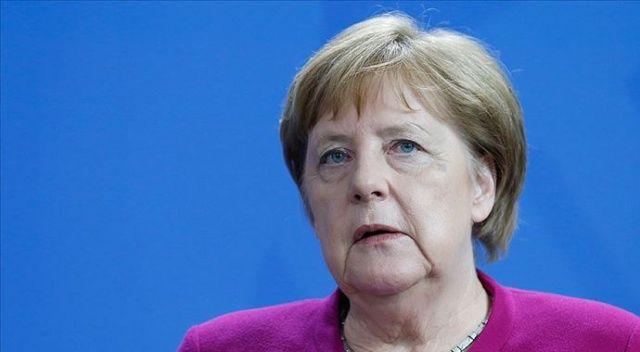 Merkel'den 'tedbir maddesi' açıklaması