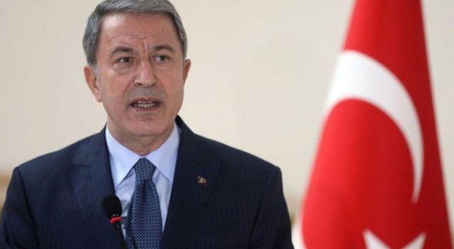 Milli Savunma Bakanı Akar: Kıbrıs 82 milyonun milli davası