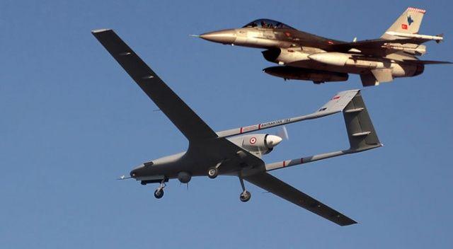 MSB resmen açıkladı: Bölgede insansız Hava Araçlarımız görev icra etmeye başlamıştır