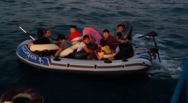 Muğla'da 64 düzensiz göçmen yakalandı