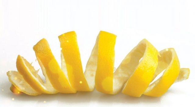 Sağlık, limonun kabuğunda saklı