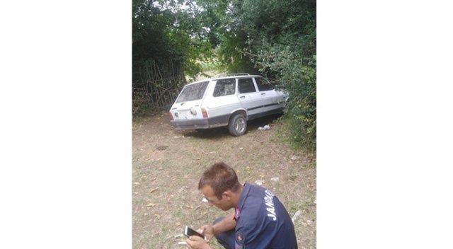 Sakarya'da çalınan araç İzmit'te bulundu