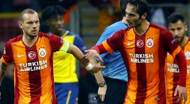Şampiyonlar Ligi'nde Hamit Altıntop ve Sneijder sürprizi!