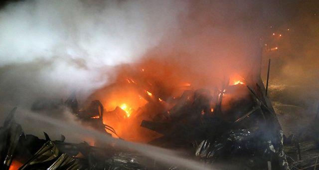 Şanlıurfa'daki yangın 6 saat sonra söndürüldü