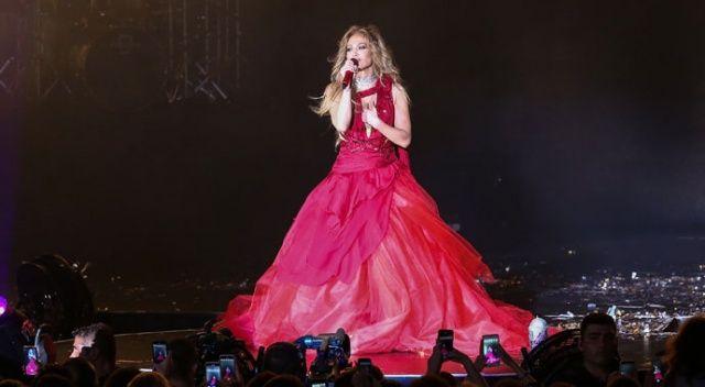 Şanslı ünlüler! Jennifer Lopez'i bedavaya izlediler