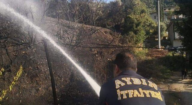 Söke'de itfaiye yangından yangına koştu