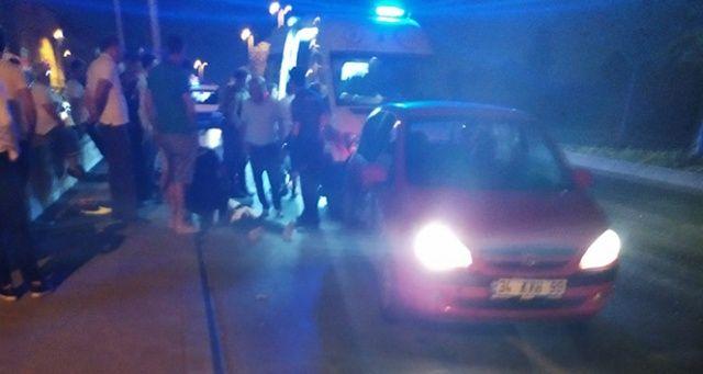 Sultangazi'de otomobile silahlı saldırı