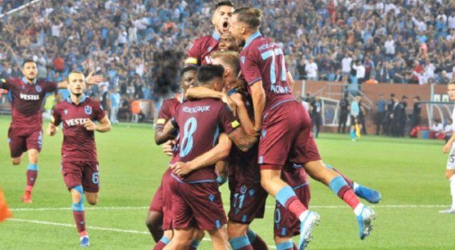 Trabzonspor evinde Sparta Prag'ı yenerek tur atladı