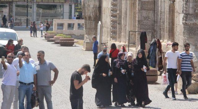 Turistlerden Sivas'a yoğun ilgi