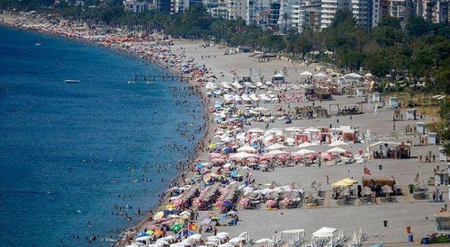 Antalya ve Muğla'da yaşanan doluluk oranı turizmcinin yüzünü güldürdü