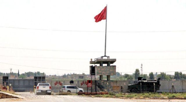 Türk ve ABD askerleri sınır hattında! Güvenli bölge mesaisi...